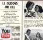 photo- youtube clip - le dessous du ciel